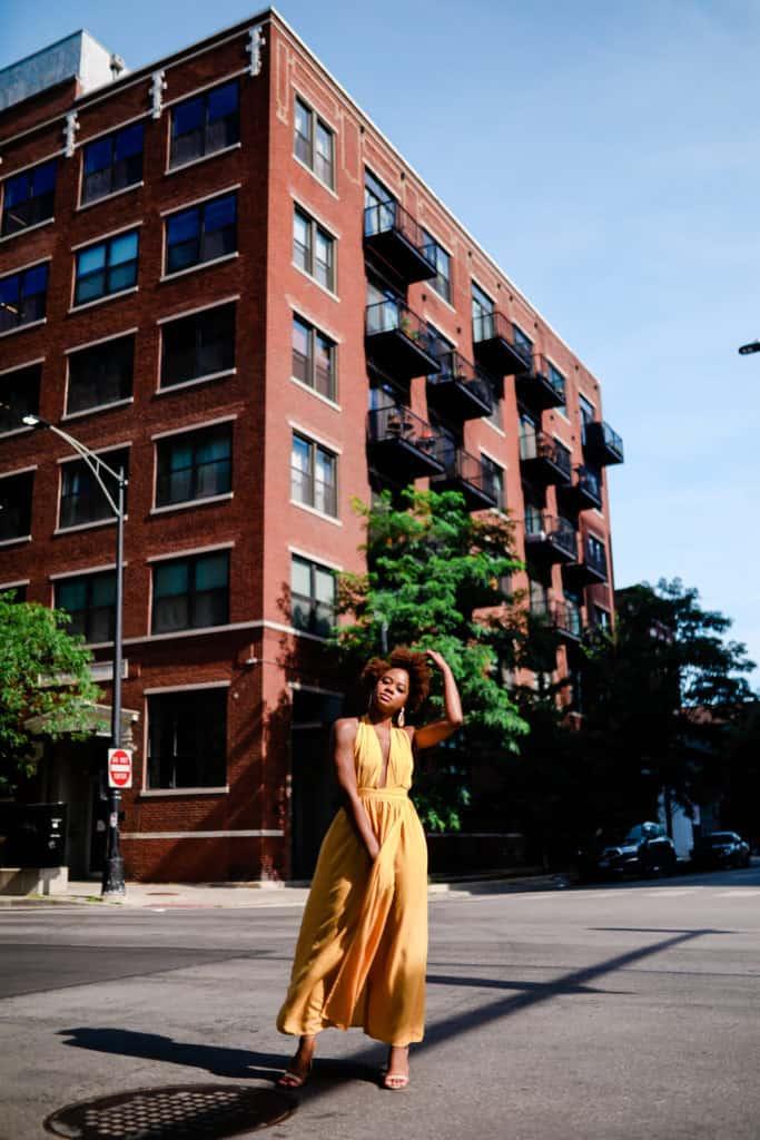Maxi Yellow Dress