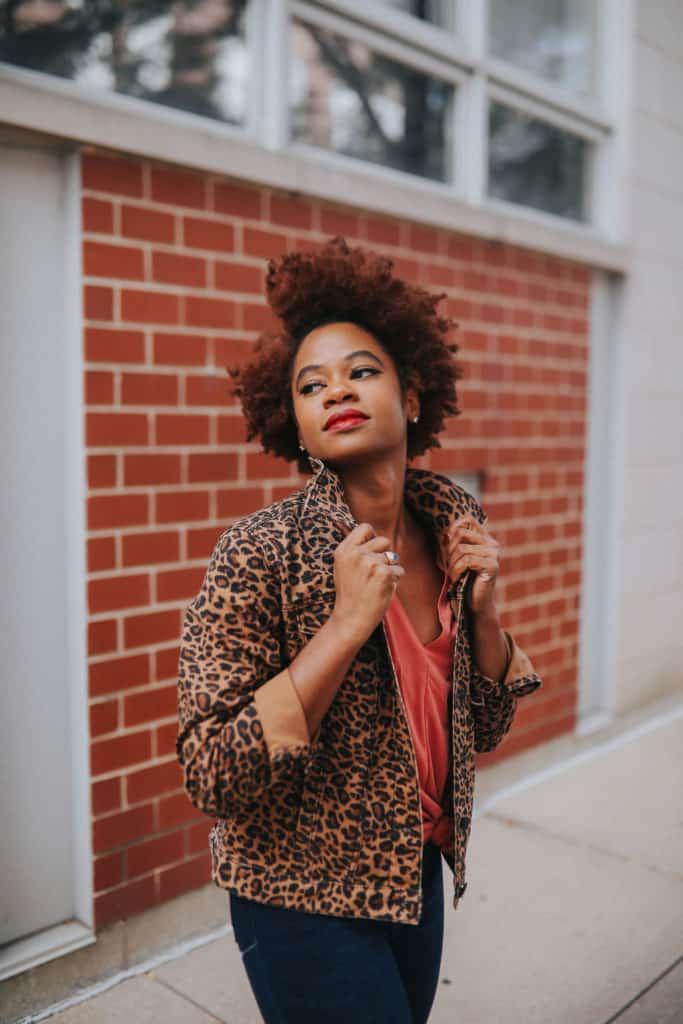 Walmart Leopard Print Jacket