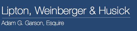 Adam G. Garson, Esquire | Lipton, Weinberger & Husick