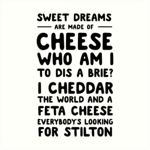 cheesey poem