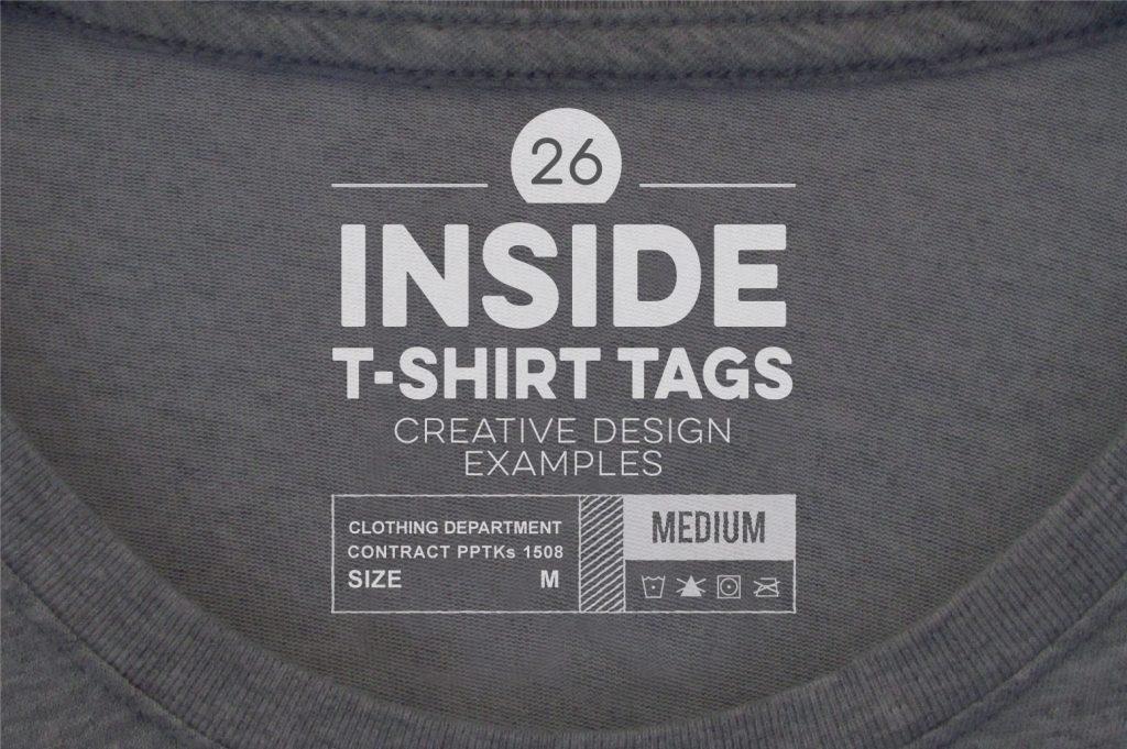 tshirt neck label