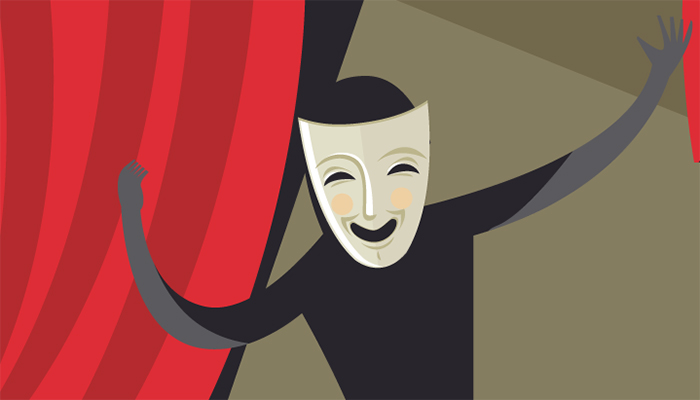Lessons from theater improv