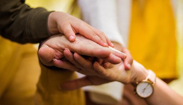 Caregiving as a team