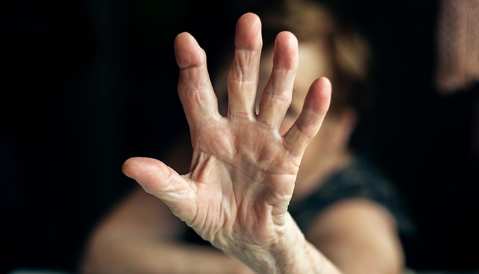 Supporting a person with arthritis