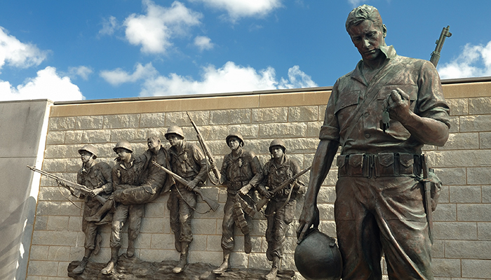 Health risks of Korean War vets