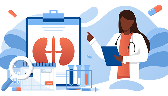 Medical management without dialysis