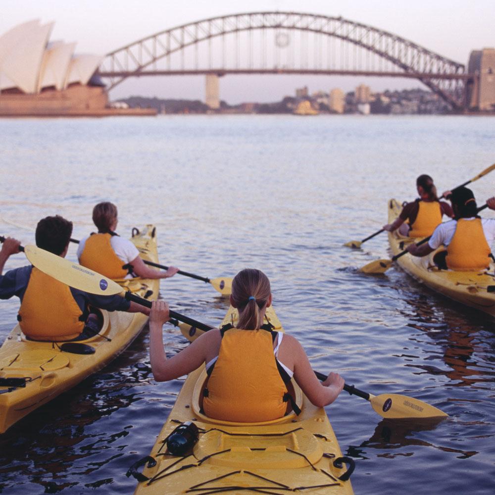 Paddleboard Or Kayak Sydney Harbour