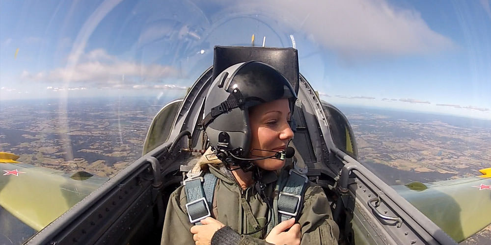 Personal Jet Fighter Flight