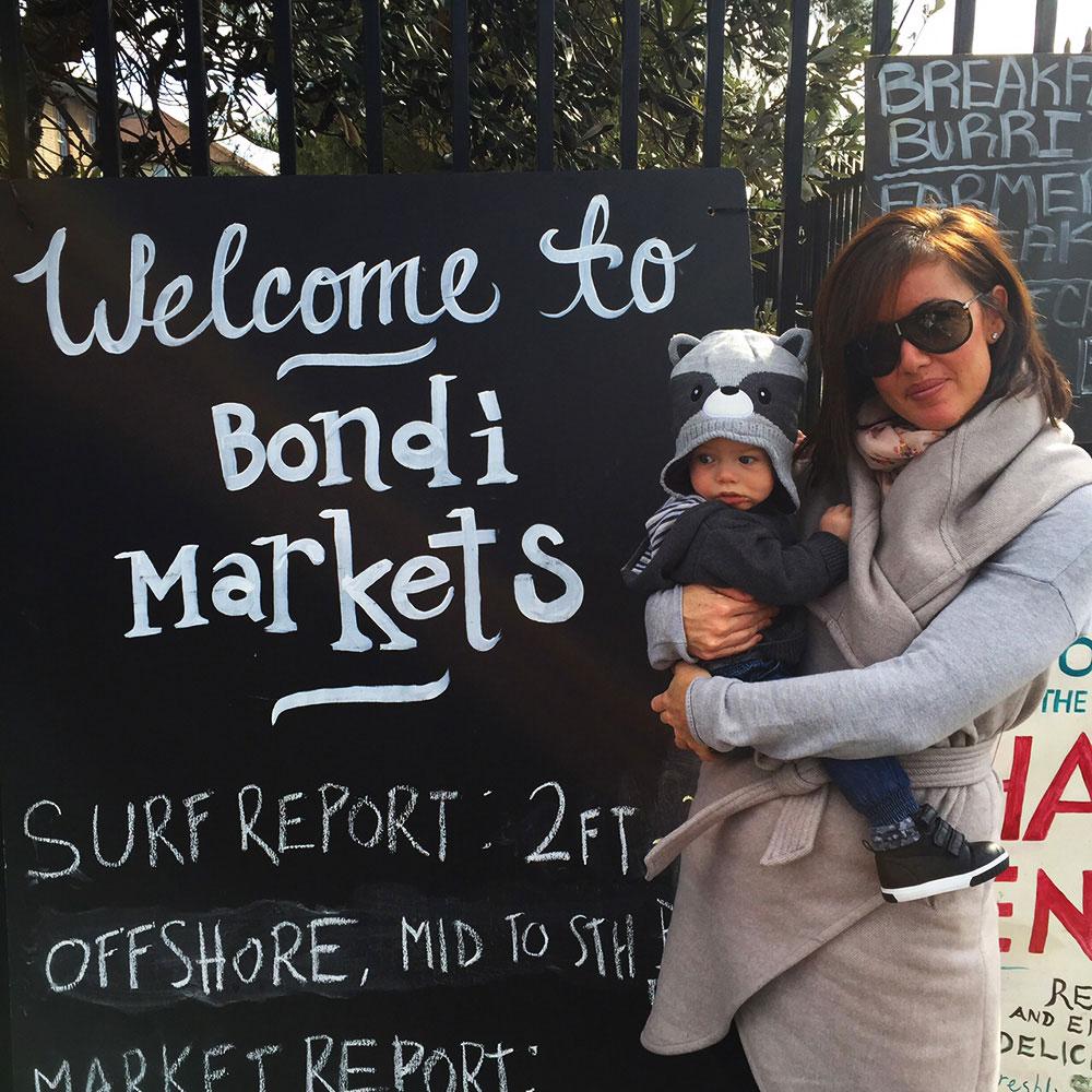 Sydney day tour bondi farmers markets
