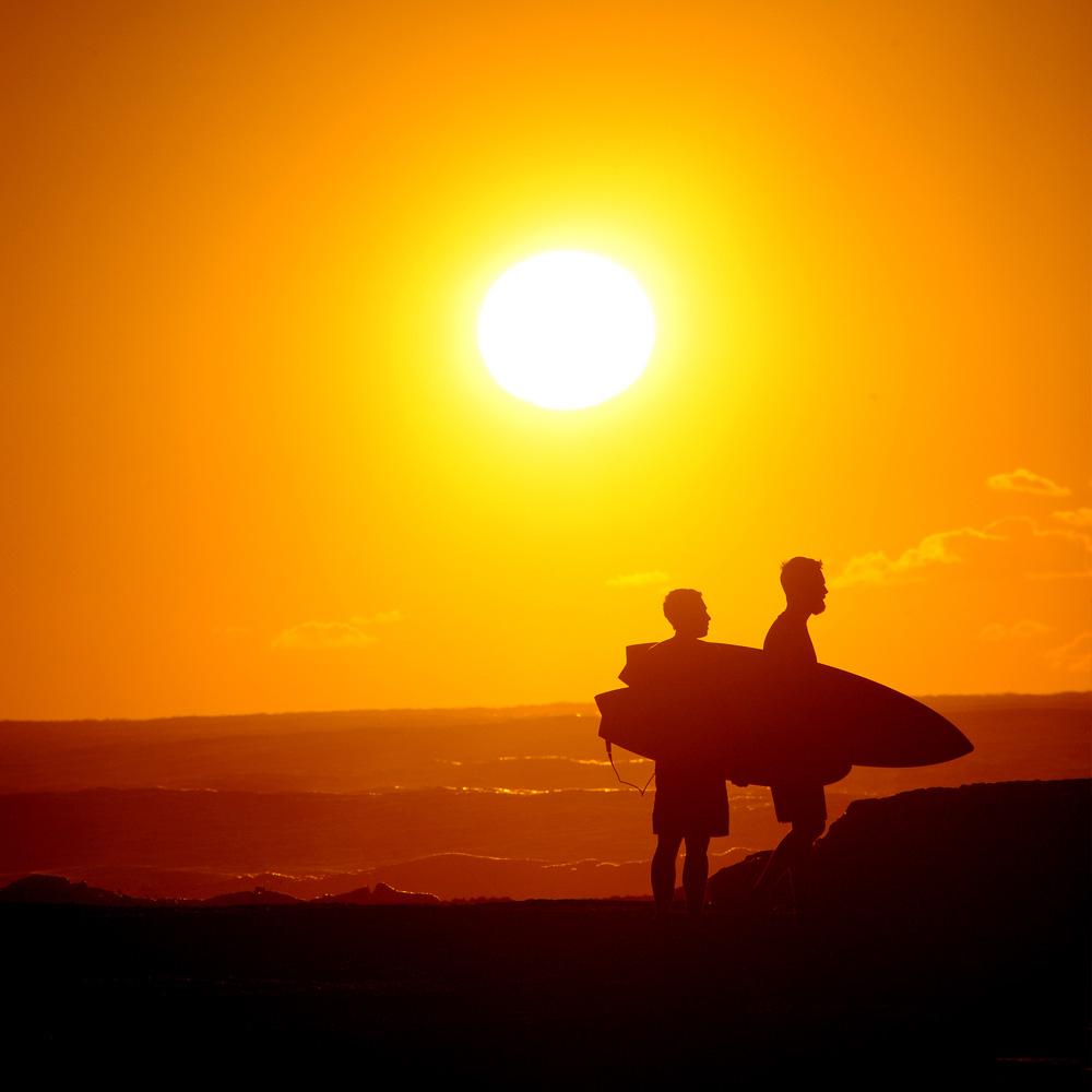 Bondi Beach Sunrise surfing