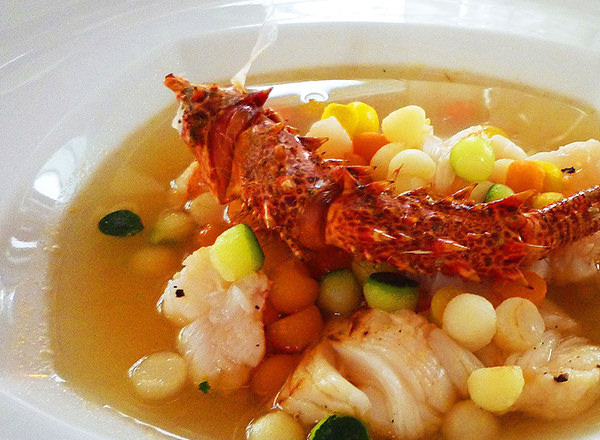 Image of gourmet meal and fine dining on a Hunter Valley Private Tour