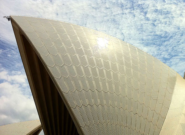 Image of a Sydney Opera House on the Sydney Sightseeing Tour