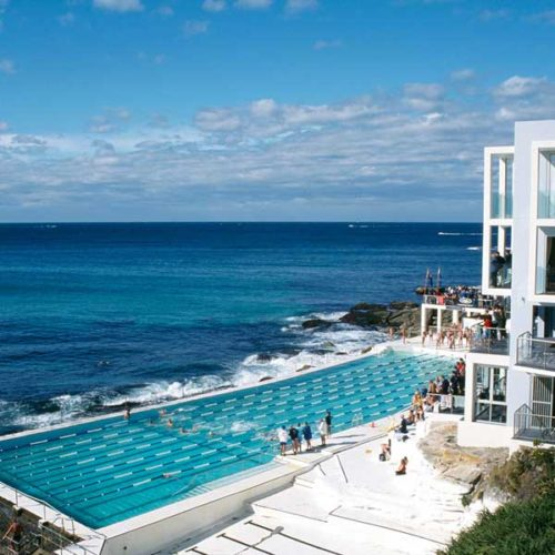 Iconic Bondi Icebergs on your private sydney sightseeing tour