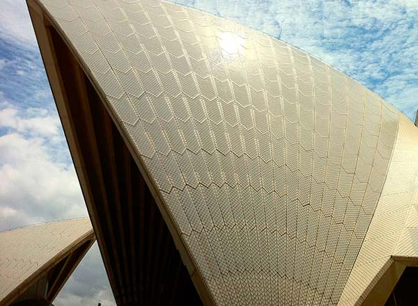 An image of the Sydney Opera House on the Private Architectural Tour of Sydney