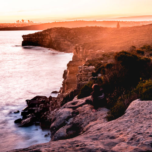 An image of the stunning coastline just north of Sydney as seen on your North Shore Road Trip tour