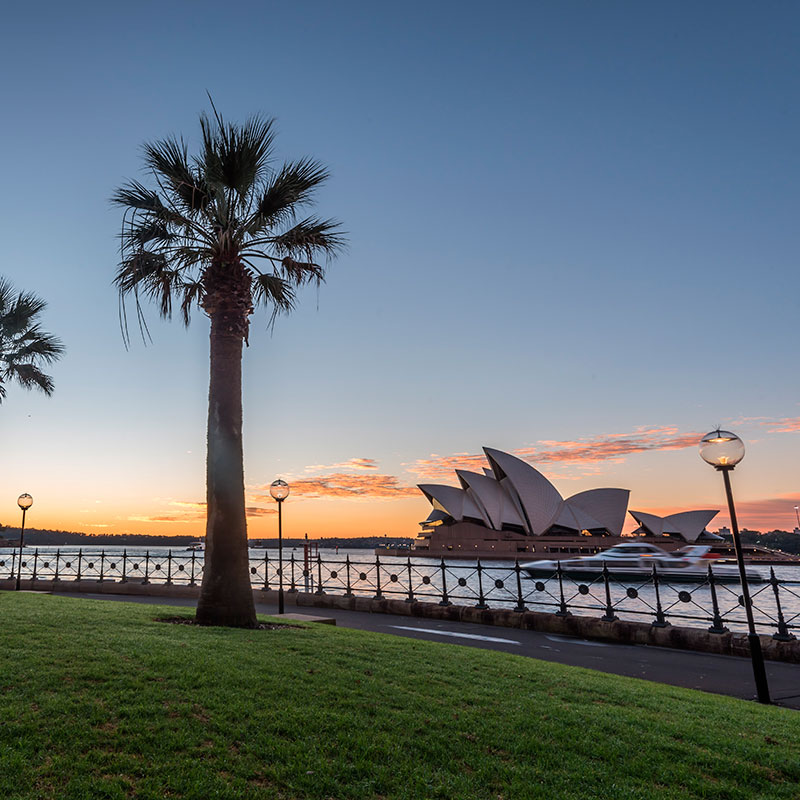 The Rocks and Opera House in the city on a One Fine Day tour