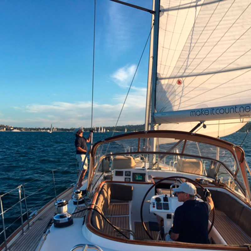 A fabulous afternoon on a sailing yacht on Sydney's Harbour on a One Fine Day tour