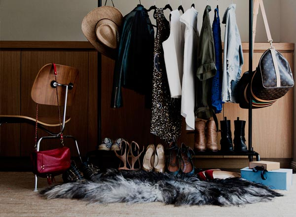 An image of new wardrobe items purchased on your personal stylist on your private Sydney shopping tour