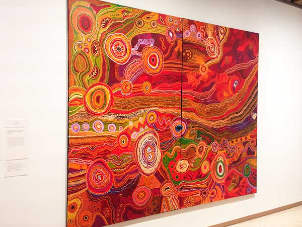 An image of the indigenous art during the aboriginal tour in Sydney with an aboriginal elder Sydney Aboriginal Tour