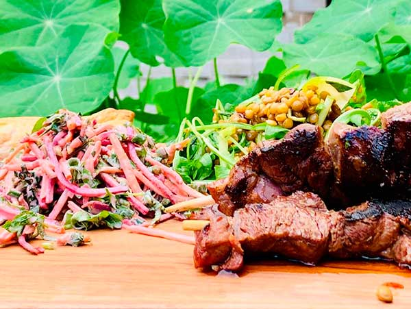 An image of the indigenous food during the aboriginal tour in Sydney with an aboriginal elder Sydney Aboriginal Tour
