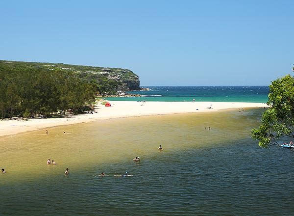 Sy=wimming hole at The Royal National Park Sydney