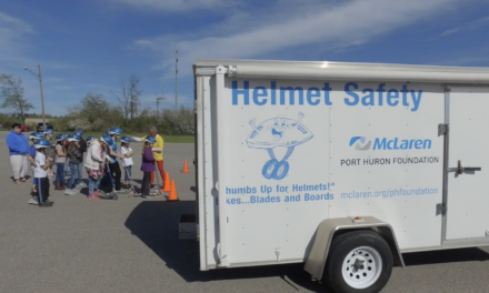Helmet Safety Program at Kimball Elementary