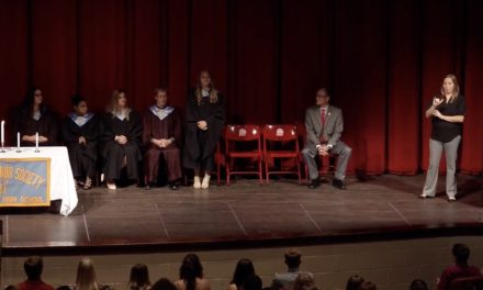 2017 Port Huron High School National Honors Society Induction