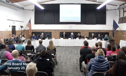 PHS Board Meeting – January 22, 2018