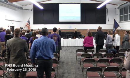 February 26, 2018 – Port Huron Schools Board Meeting