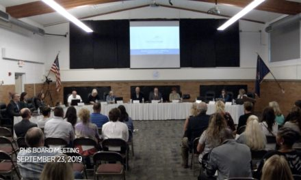 PHS Board of Education Meeting – September 23, 2019