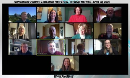 April 20, 2020 – Port Huron Schools Board of Education – Regular Meeting