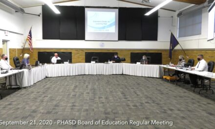 September 21, 2020 – Board of Education Meeting