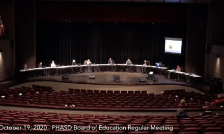 Port Huron Schools Board of Education Meeting – October 19, 2020