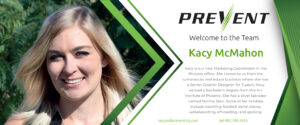 PREVENT-Fire Barrier Management- New Employee Kacy McMahon