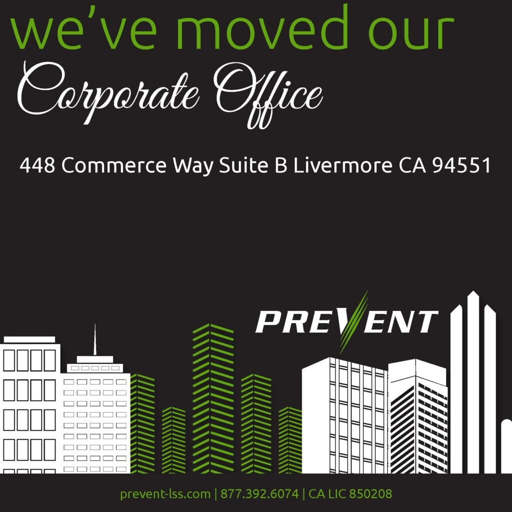 PREVENT fire barrier management moved corporate office