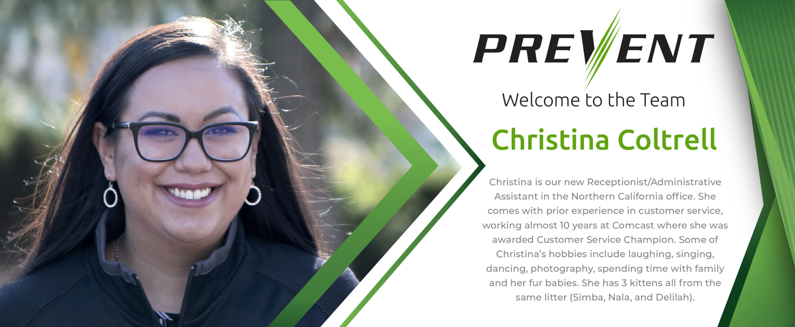 Fire Barrier Management- New Employee Christina Coltrell