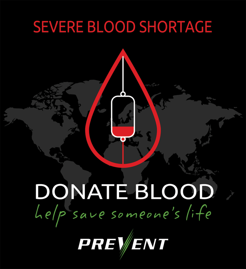 PREVENT covid19 blood drive
