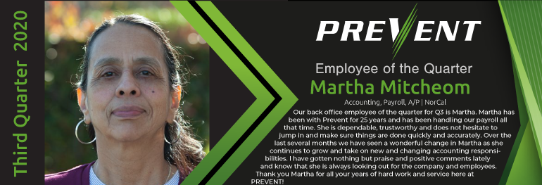 Martha Mitcheom - Accounting, Payroll, A/P