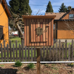 The New WCP Little Library is Now Installed & Full of Books