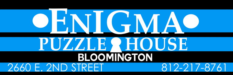 Enigma Puzzle House, Escape Games, Bloomington, Indiana Logo