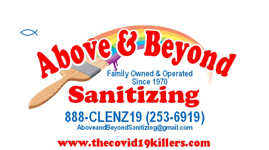 Above And Beyond Sanitizing