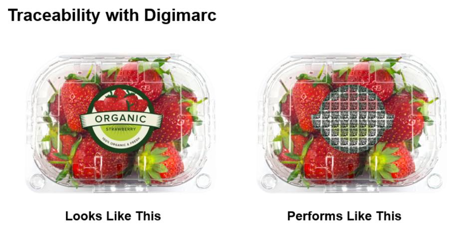 traceability with digimarc