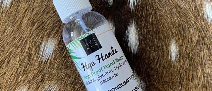 Hye Rum Hand Sanitizer
