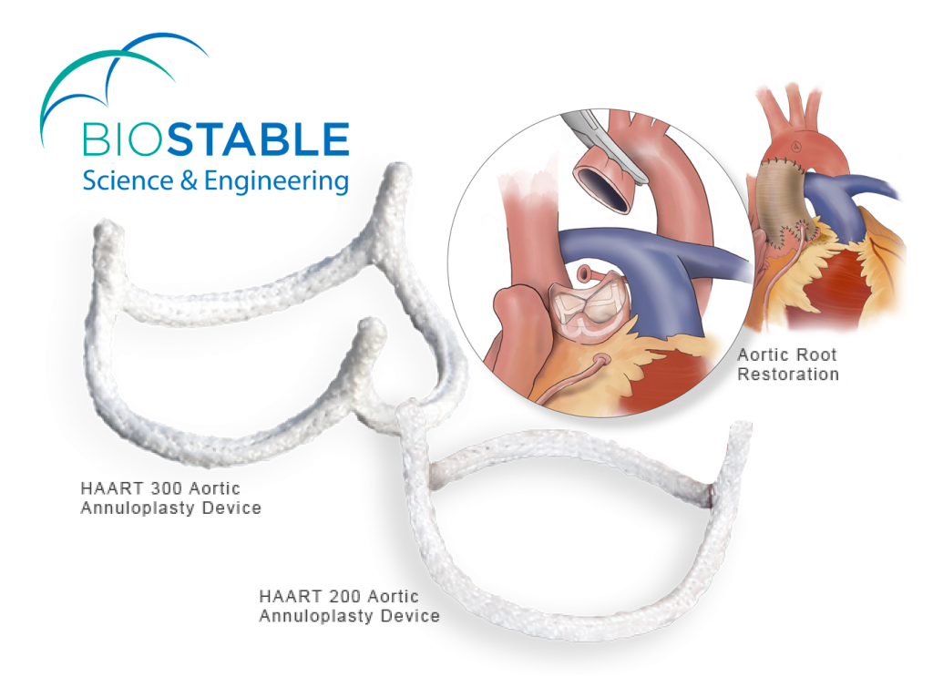 BioStable HAART Technologies products - Aortic Heart Valve Repair and Aortic Root Restoration