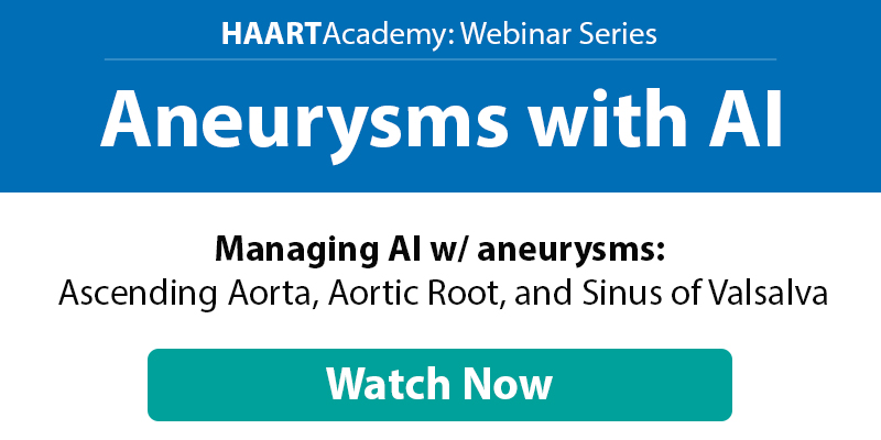 Aneurysms with AI