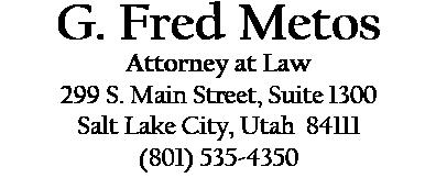 G. Fred Metos