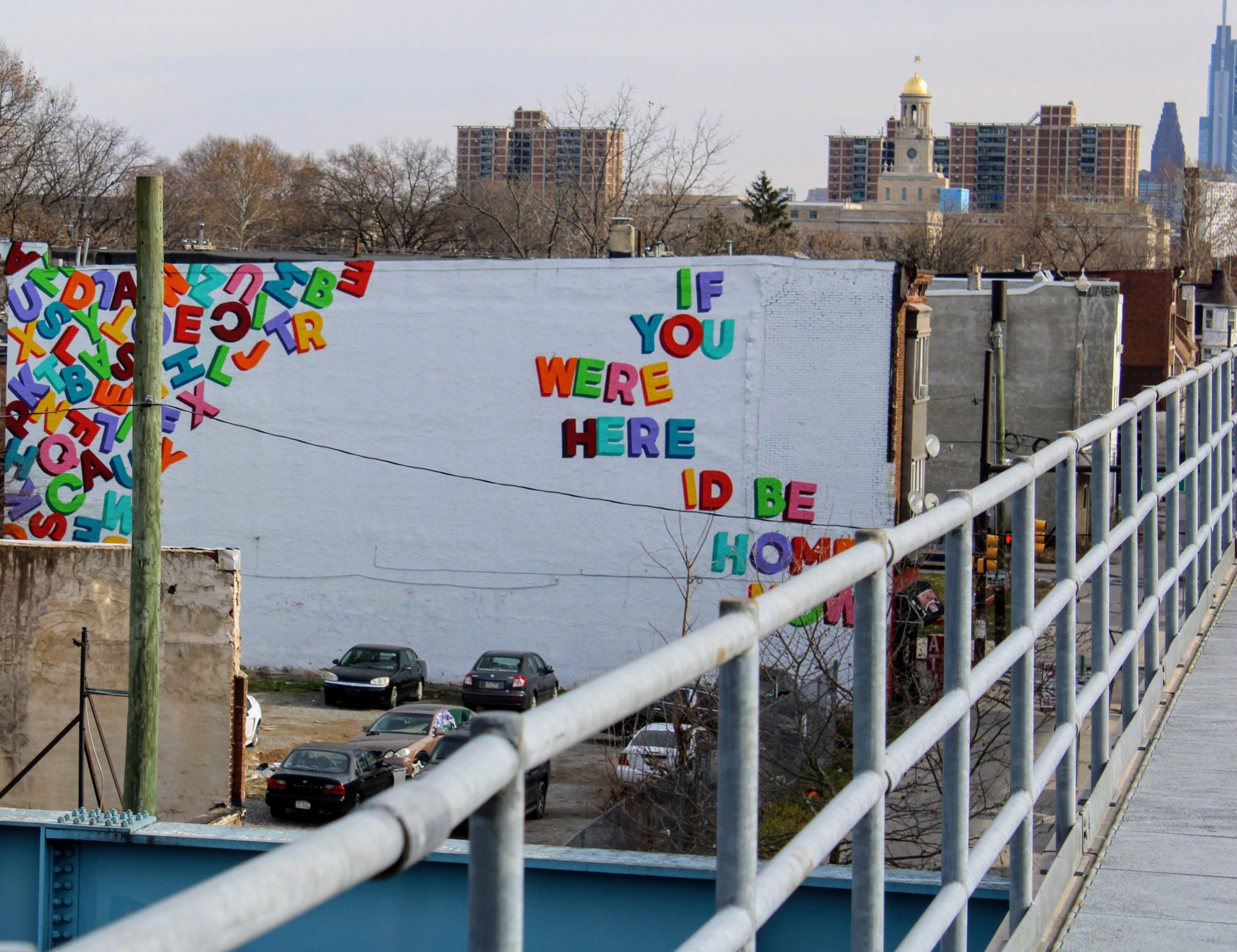 Mural Arts Philadelphia's Love Letter Train Tour offers a ...
