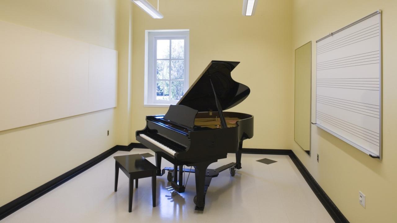 University of Delaware | Practice Room