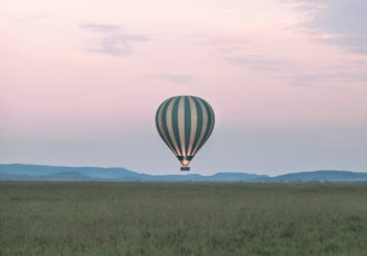 Serengeti balloon safari