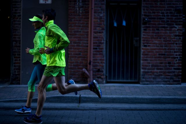 Staying Visible When Running